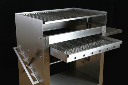 winkler metalltechnik leopoldsh he grillstation edelstahl grill. Black Bedroom Furniture Sets. Home Design Ideas